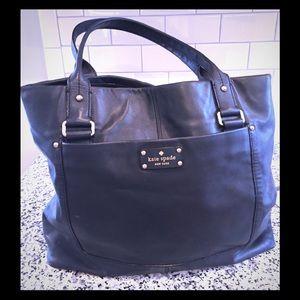 Kate Spade Black Delaney street bag